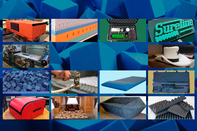Foam Products | Sureline Foam Products